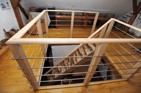Mlynářské schody a galerie